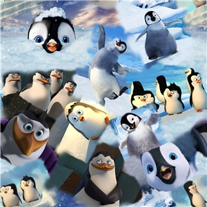 Digitaltryck Pinguins