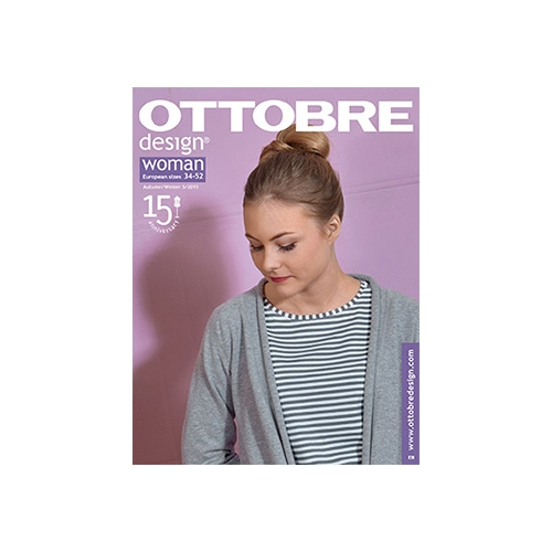 Ottobre design Woman höst/vinter 5/2015