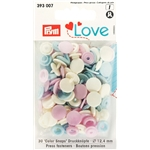 Love Color Snaps blandade 30 st