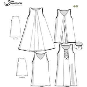 design göteborg latex klänning