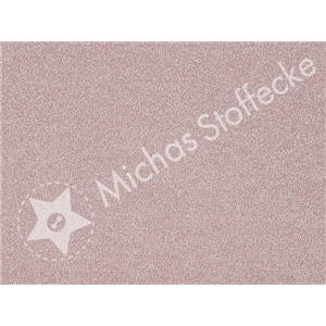 Stretchjersey Sparkling gammel Rosa-Silver