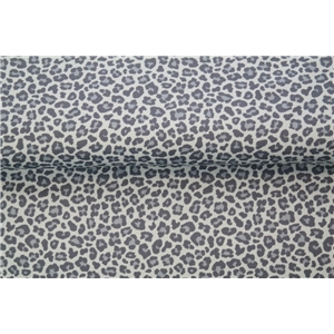 Leopard - Small Print Blue
