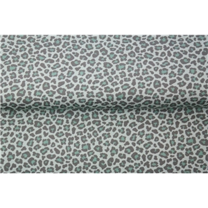 Leopard - Small Print Green