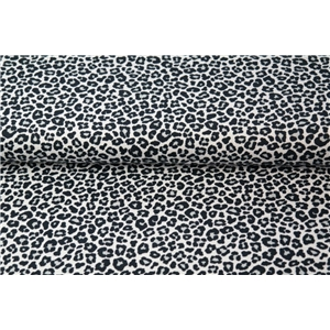 Leopard - Small Print White & Black