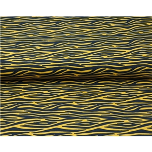 Small Zebra stripes - Yellow and Black