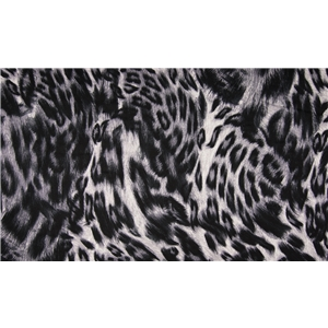 Viscose Leopard Grey