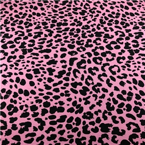 Leopard on Pink