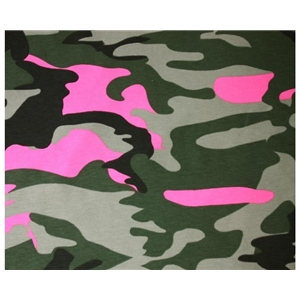 Colourful Camouflage - Rosa