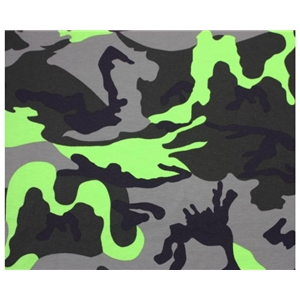 Colourful Camouflage - Lime